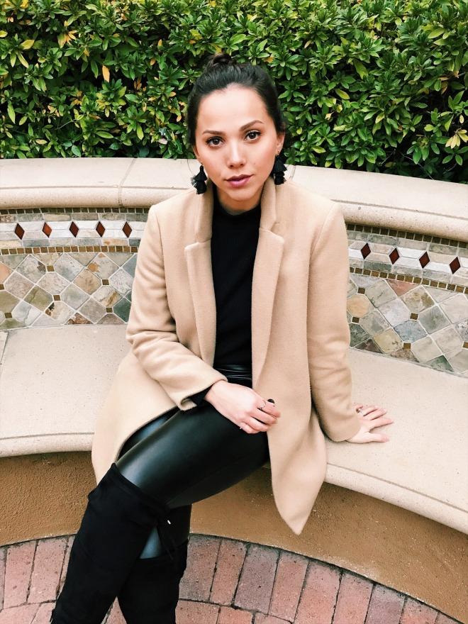 Wool-Blend Everyday Coat for Women San Jose California