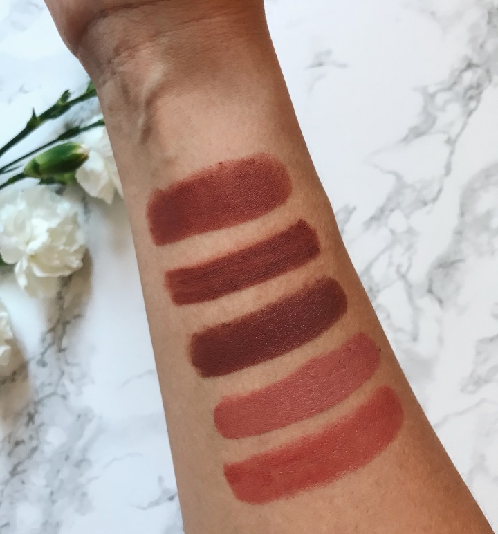 Favourite go to lippies colors