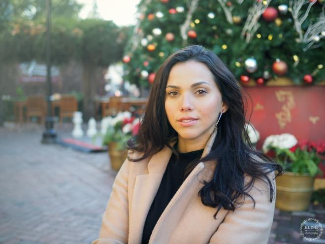 Christmas in Santana Row Elise Photography