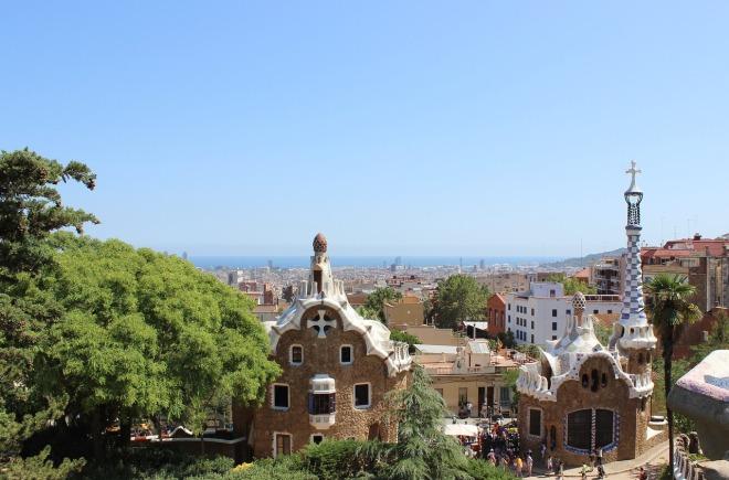 Park Güell Salamander Barcelona Spain