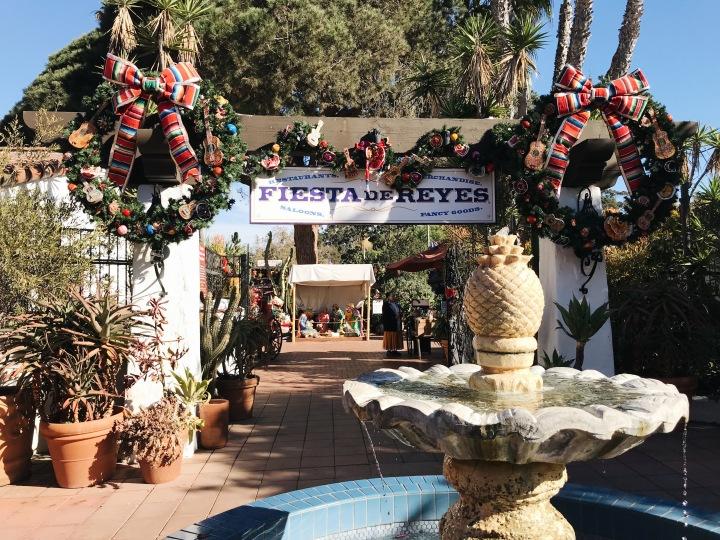 Fiesta de Reyes Old Town Fountain San Diego California