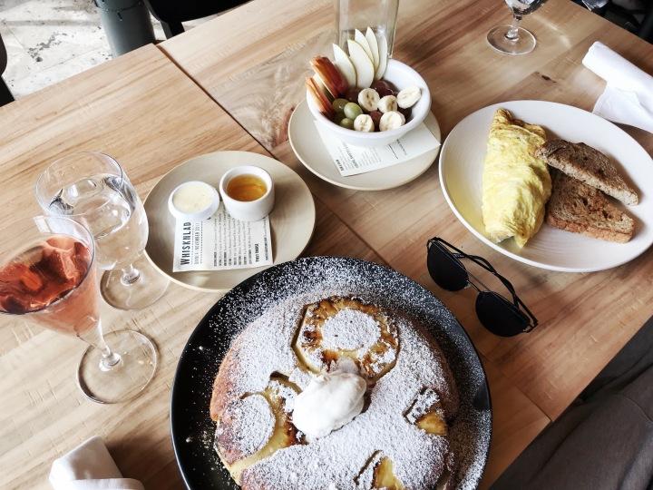Whisknladle Dutch Pancake Omelette Fruit Bowl