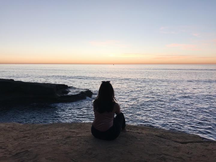 Beautiful Sunset Cliffs San Diego California