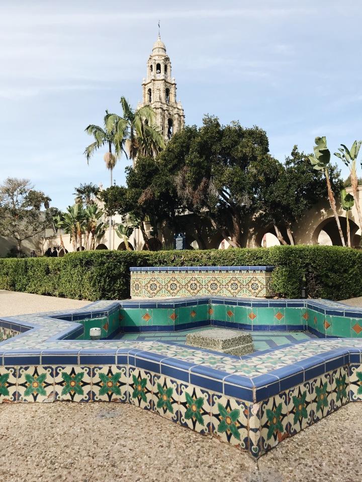 Balboa Park Fountain Church