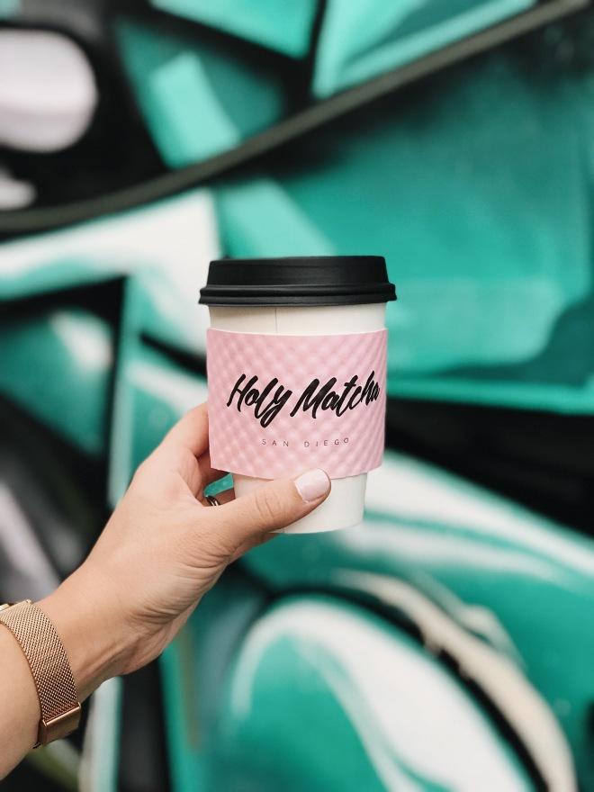 Holy Matcha Tea Street Art San Diego California