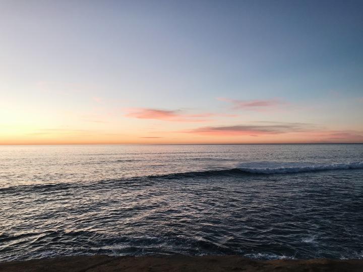 Beautiful Sunset Cliffs San Diego California Sea