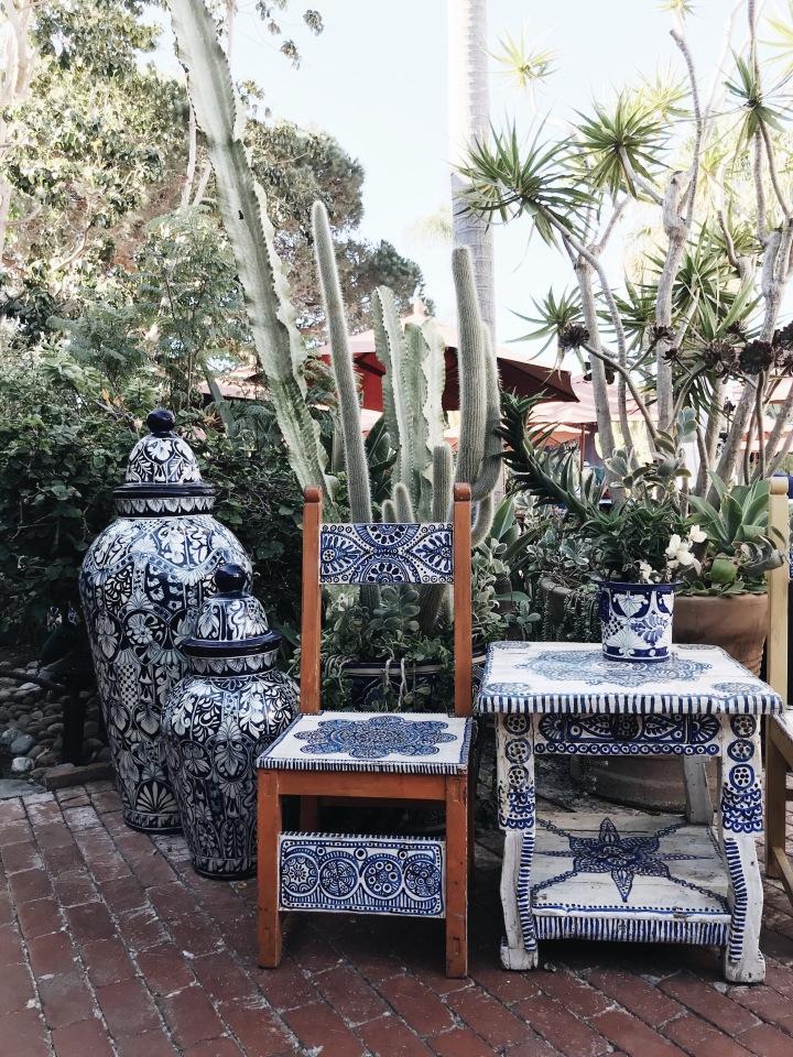 Fiesta de Reyes Old Town San Diego California Tiles Chair