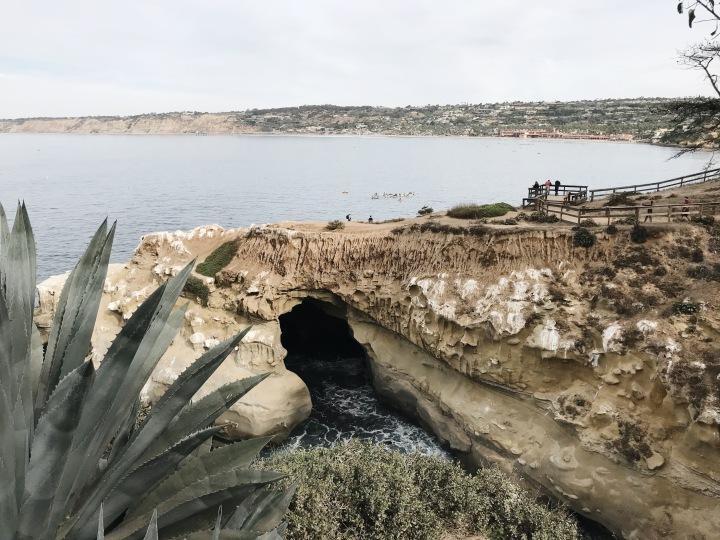La Jolla Beach Grottos San Diego California