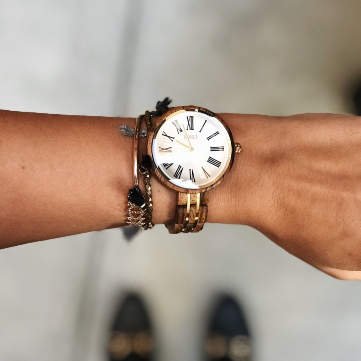 Womens unique wooden watches Jord Cassia Watch