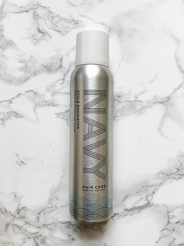 Navy Haircare Style Navigator Prep & Finishing Spray