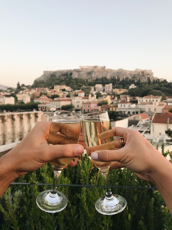 Instagrammable spots in Athens, 360 rooftop bar