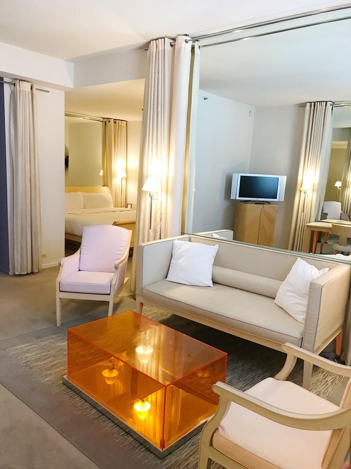 Clift Hotel Suite San Francisco