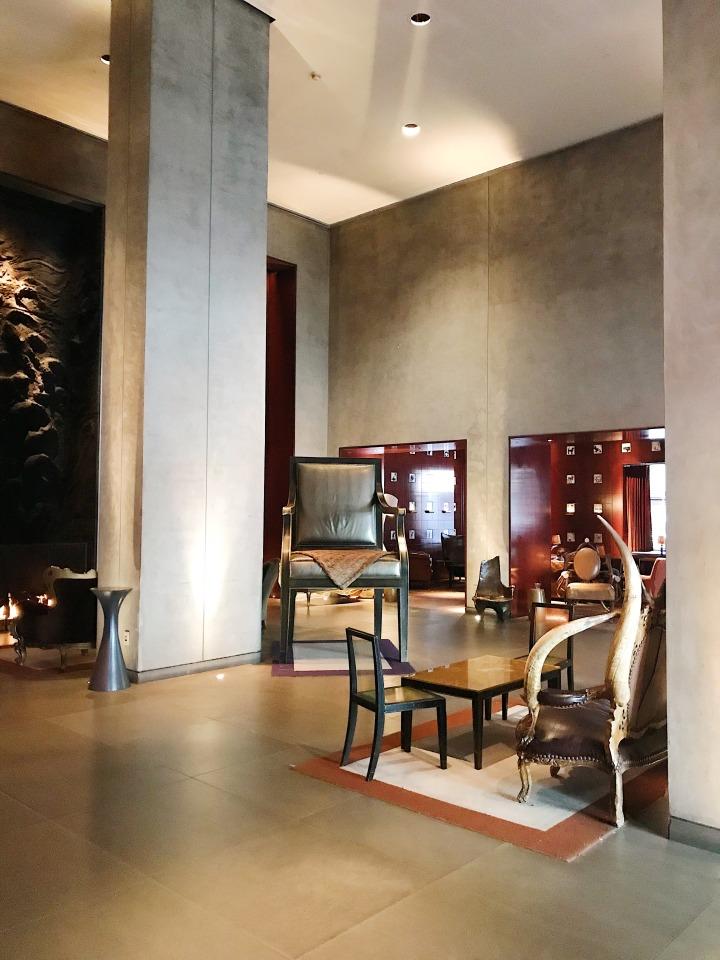 Clift Hotel Lobby San Francisco