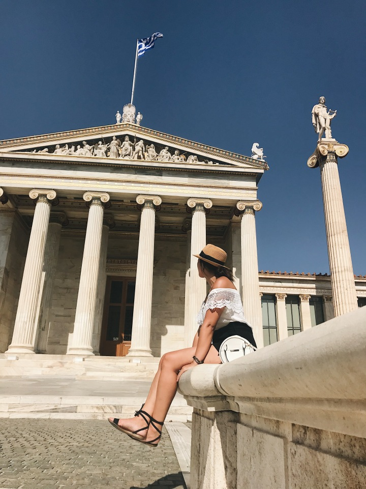 What to see in Athens, Panepistimou Street