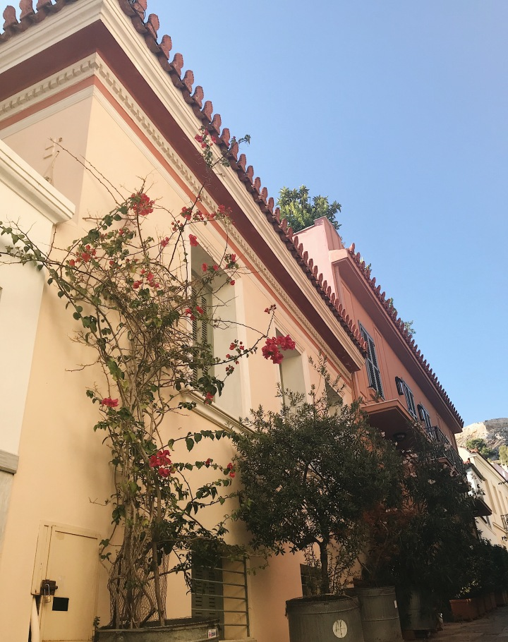 Instagrammable spots in Athens, Anafiotika