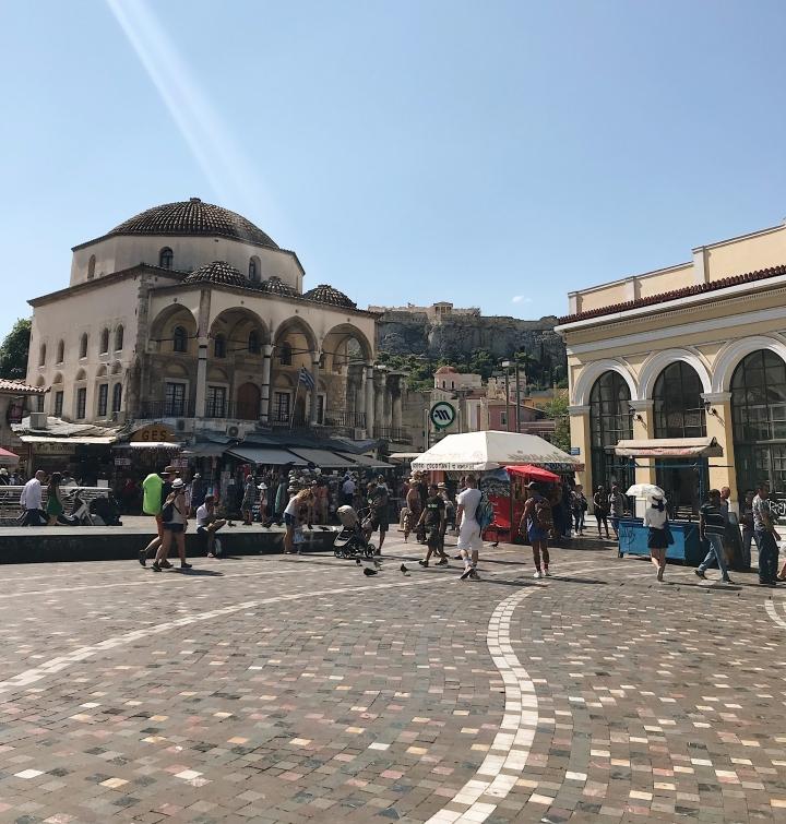 What to see in Athens, Monastiraki Square
