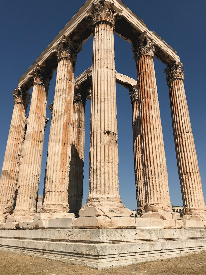 What to see in Athens, Temple of Olympian Zeus