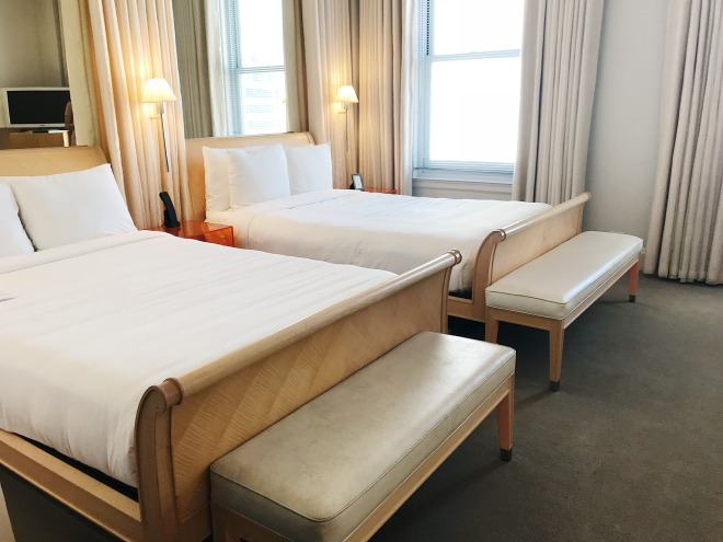 Clift Hotel Guest Rooms San Francisco