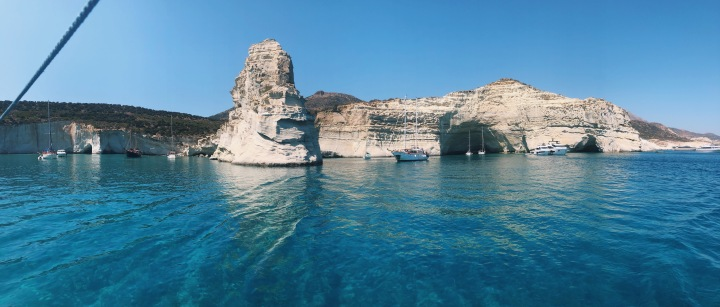 POLIEGOS – KLEFTIKO, SAILING EXCURSION AROUND MILOS